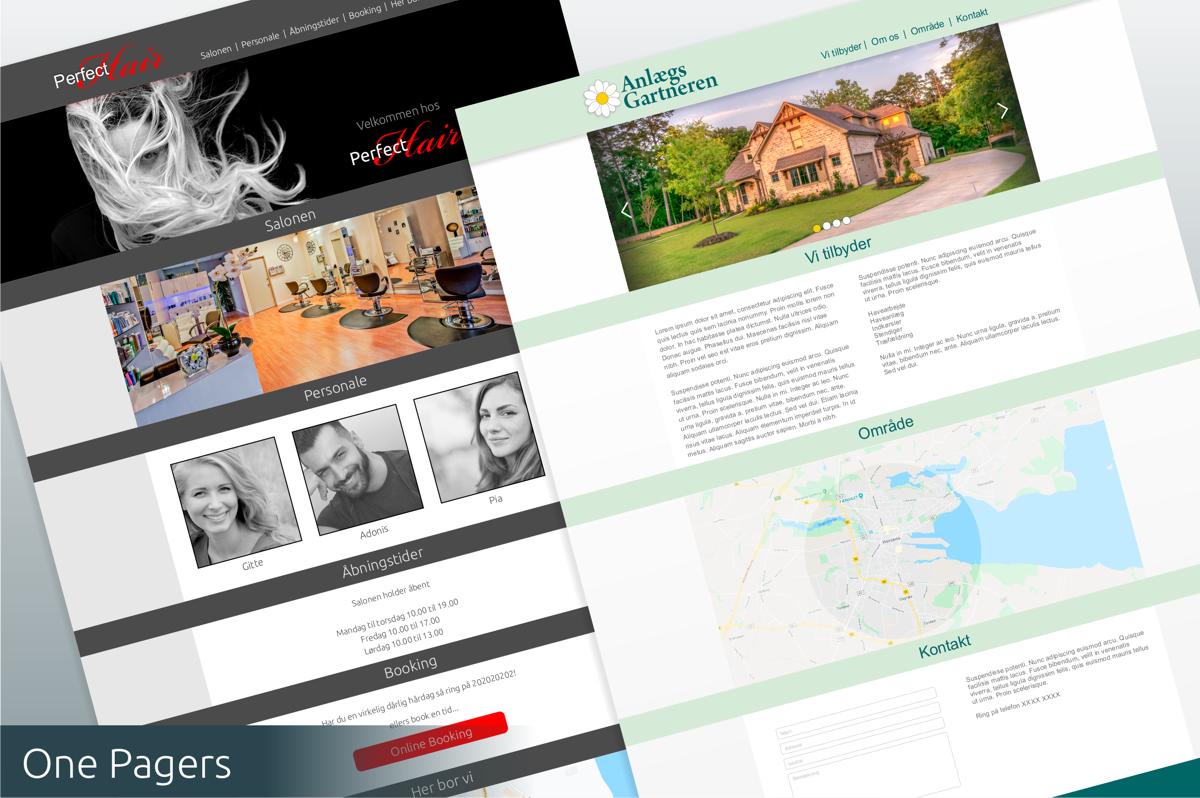 Hjemmesider med cms til mindre service-virksomheder